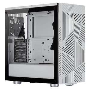 Corsair 275R Airflow Mid-Tower ATX Gaming Gehäuse weiß - Mindfactory