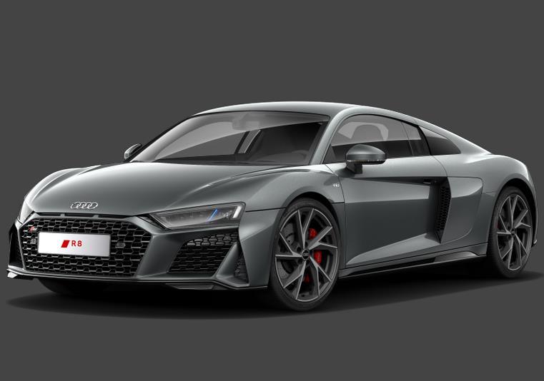 Privatleasing: Audi R8 Coupe V10 Karhu 5.2 / 540PS (konfigurierbar) für 1135€ monatlich - LF:0,67