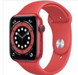 Apple Watch 6 | 44mm | GPS | Rot | Aluminium (Grauimport)