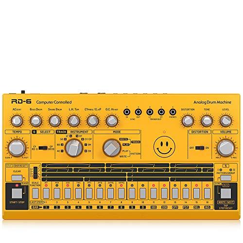 Behringer RD-6 (RD-6-AM), analoge Drum Machine [Musikinstrumente]