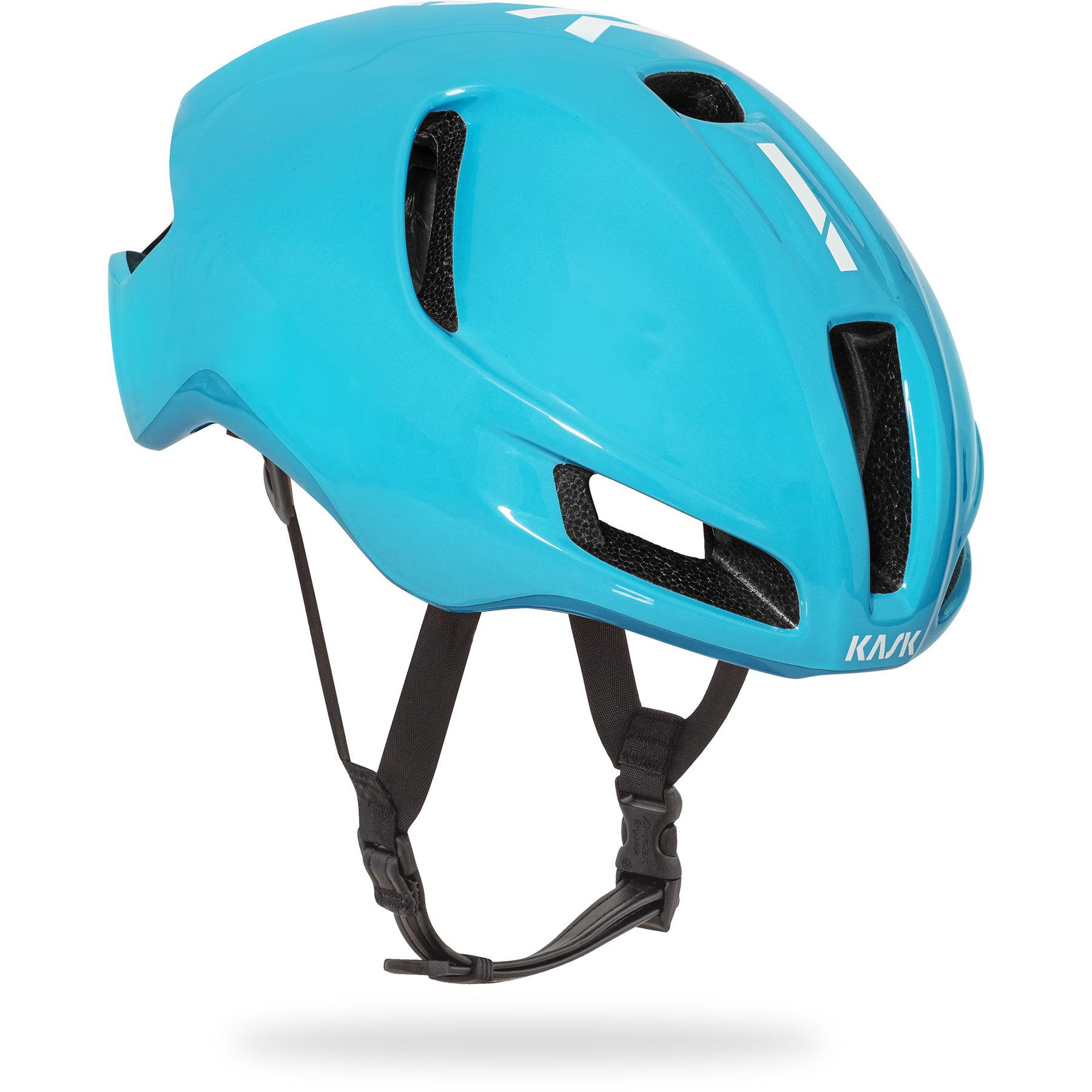 Kask Utopia light blue Fahrradhelm (Größe L)