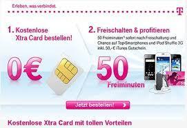Telekom Xtra-Card Prepaid Card Kostenlos