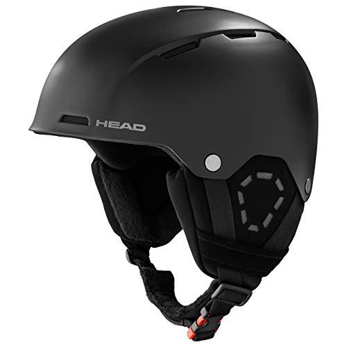 HEAD Unisex – Erwachsene TREX Skihelm, schwarz, XS/S