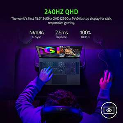Razer Blade 15 Profi-Modell - QHD 240Hz - GeForce RTX 3070
