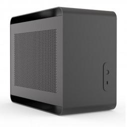 Streacom DA2 V2 Mini-ITX Gehäuse - schwarz (ST-DA2S-V2)