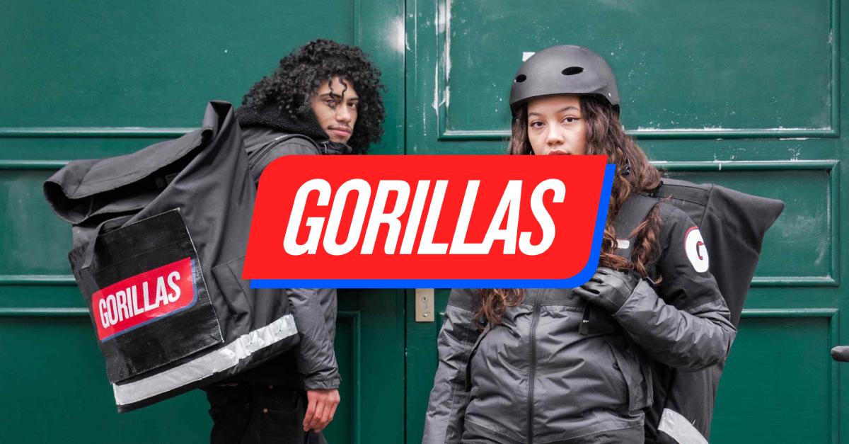 30% Rabatt bei Gorillas Lieferdienst