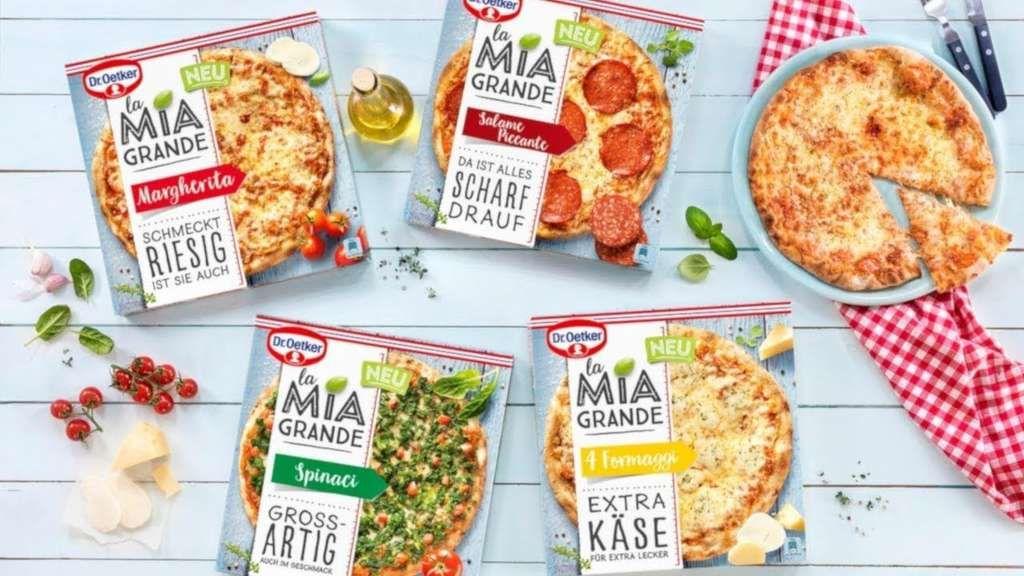 [Lokal z.b. Neuss Kaufland ab 03.05.21] Dr. Oetker La Mia Grande Pizza versch. Sorten mit Coupon für 1,72€