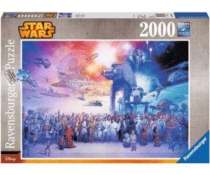 RAVENSBURGER Puzzle - Star Wars Universum - 2000 Teile Puzzle Mehrfarbig [Saturn]