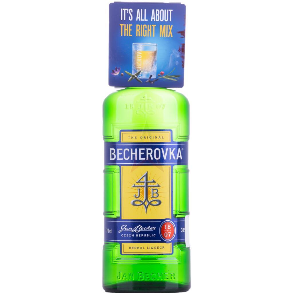 Becherovka Tschechischer Kräuterschnaps 0,7L 38% mit gratis Shot Glas ab 29.04. für nur 8,99€ [Kaufland]