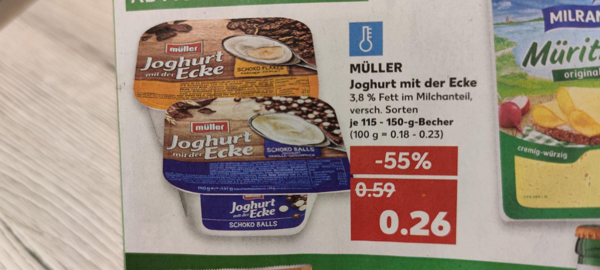 Kaufland/ Müller Joghurt (Versch Sorten)