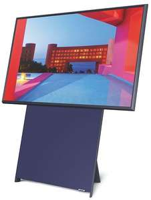 Samsung The Sero (2020) GQ43LS05TAUXZG QLED TV (43 Zoll, 4K UHD, Smart-TV, HDR, USB-Aufnahme, Sprachsteuerung, Höheverstellbar, Drehbar