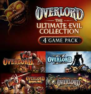 Overlord: Ultimate Evil Collection: Overlord 1 & 2 + Raising Hell + Fellowship of evil (Steam) für 0.52€ (Fanatical)
