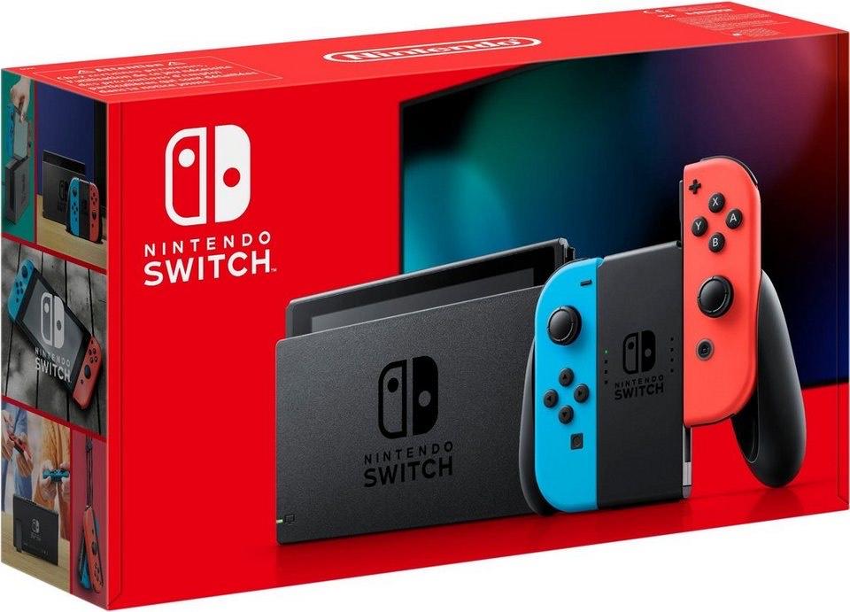 Nintendo Switch Konsole - Neon-Rot/Neon-Blau   285,98€ möglich für FR App Erstbesteller