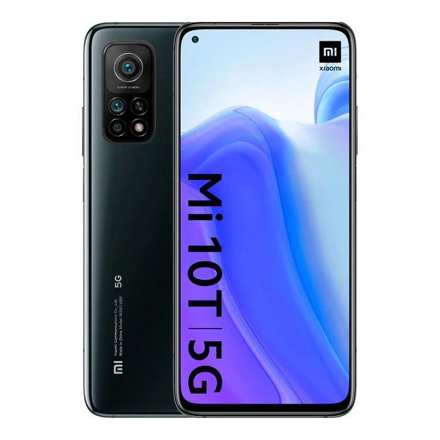 "Xiaomi Mi 10T 6,67"" FHD+ 5G Dual-SIM 6/128GB (645K AnTuTu, Snapdragon 865, 5.000 mAh, 64 MP Triple-Cam, NFC, USB-C, aptX HD, 144 Hz)"