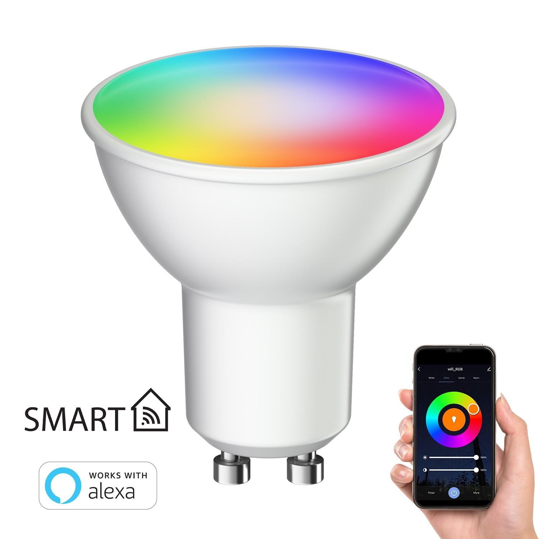 [Verfügbar ab: 14.05.2021] Smart Home RGBW GU10 LED Lampe