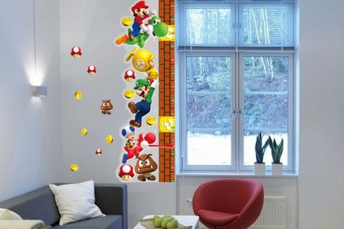 Super Mario 3D Wand Tattoo