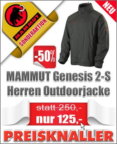 Mammut Genesis Outdoorjacke 50% reduziert