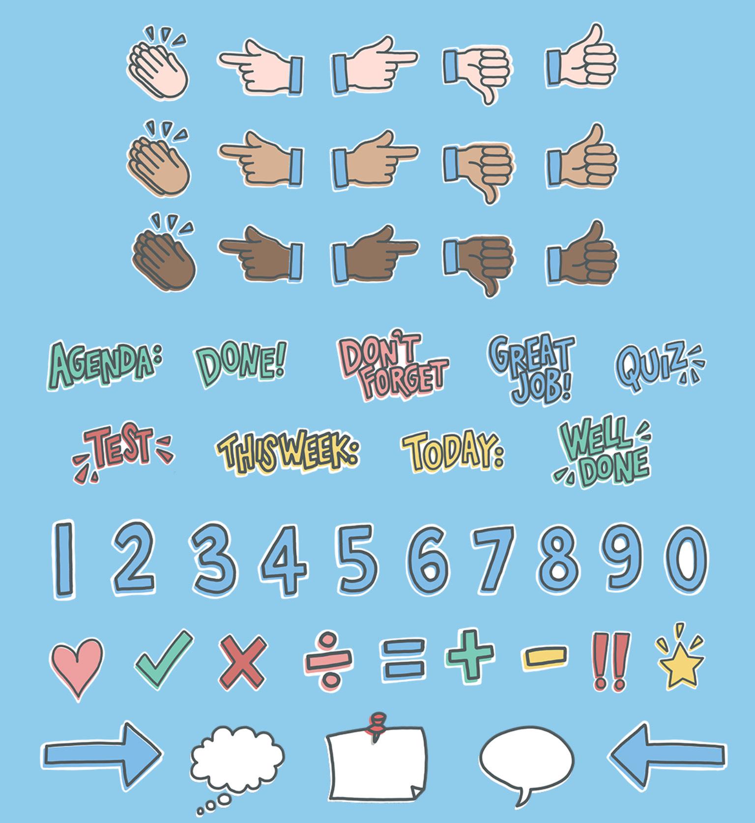 Zurück-in-die-Schule-Basispaket Sticker Notability IOS