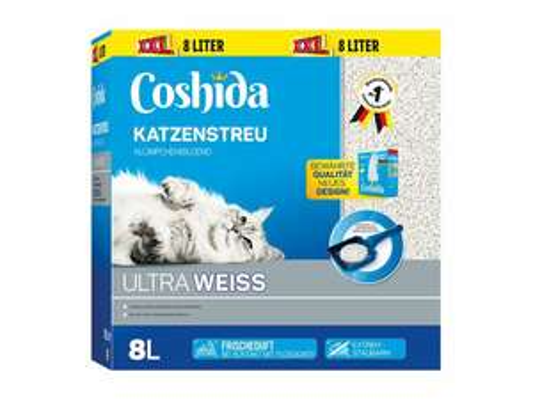 [Lidl] Coshida Katzenstreu XXL - 2 Liter gratis - 25% Gratis!