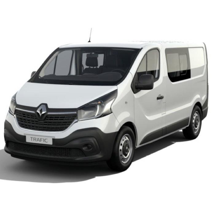 [Gewerbeleasing] Renault Trafic DoKa dCi120 L1H1 (120 PS) für mtl. 63,02€ + 839,5€ ÜF (eff. mtl. 91€), LF 0,19, GF 0,28, 30 Monate