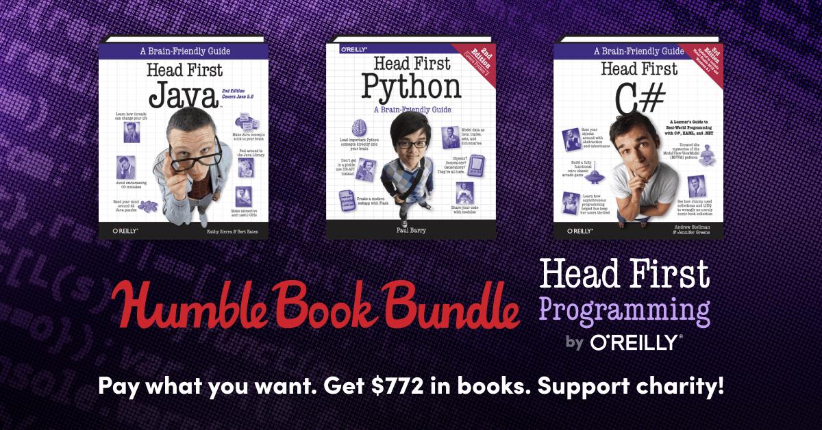 Head First Python 2nd Edition EPUB im Humble