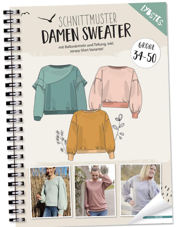 [Schnittmuster] Lybstes Damen Sweater Gr. 34-50
