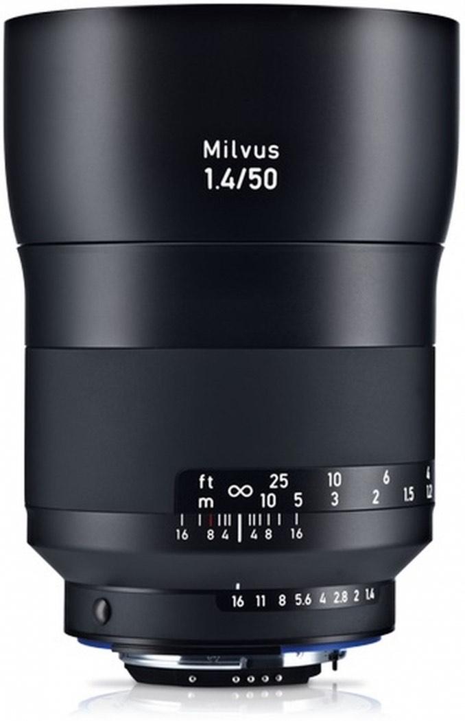 Zeiss 50mm F1.4 Milvus Objektiv für Nikon F-Mount