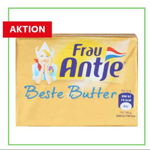 Frau Antje 250g Butter aus NL (4,44€/kg)