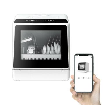 Tisch-Geschirrspüler BlitzWolf BW-CDW1 4-6 Gedecke, flexible Wasserversorgung, Bluetooth