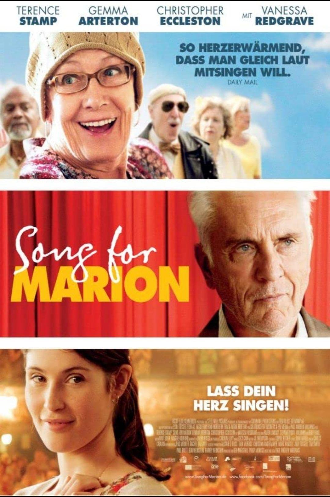 """[ARD Mediathek] """"Song for Marion"""" mit Gemma Arterton, Terrence Stamp und Christopher Ecclestone kostenlos streamen [IMDb 7.0]"""