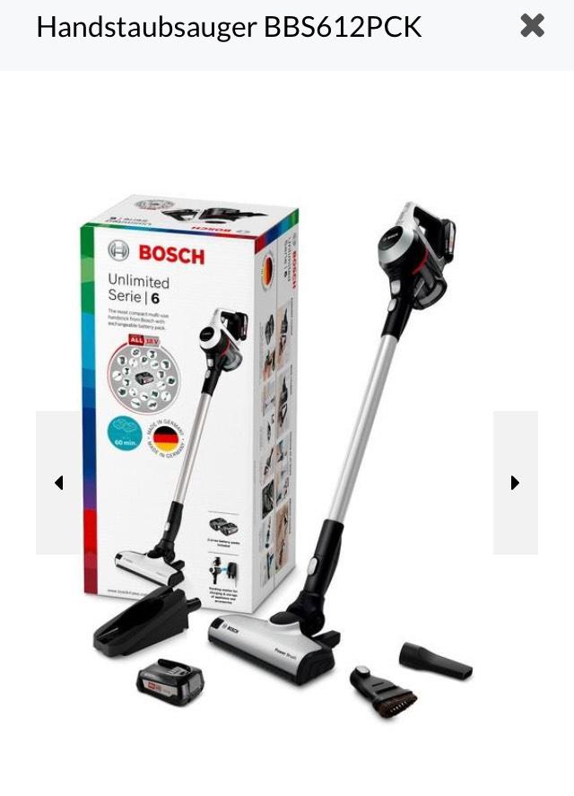 Bosch BBS612PCK