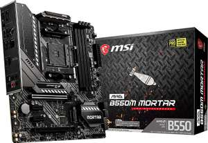 MSI MAG B550M MORTAR - Mainboard - AM4 - Micro ATX