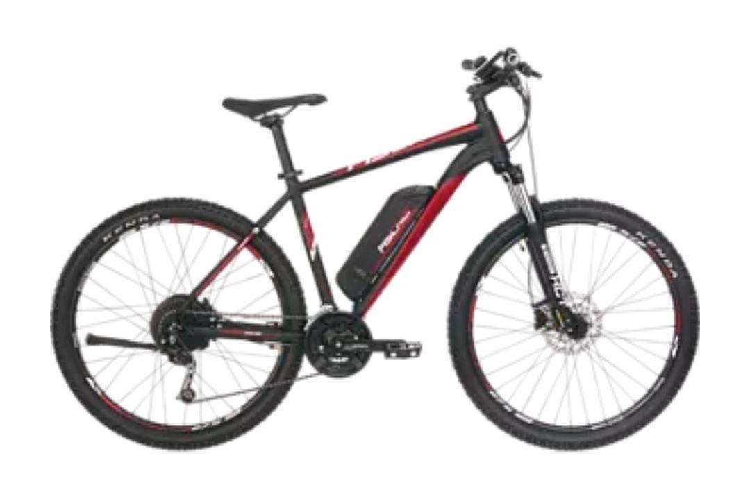 E- Bike FISCHER EM 1726 Mountainbike 27,5 Zoll, Rahmenhöhe: 48 cm, Unisex-Rad, 422 Wh, MODELLJAHR 2021