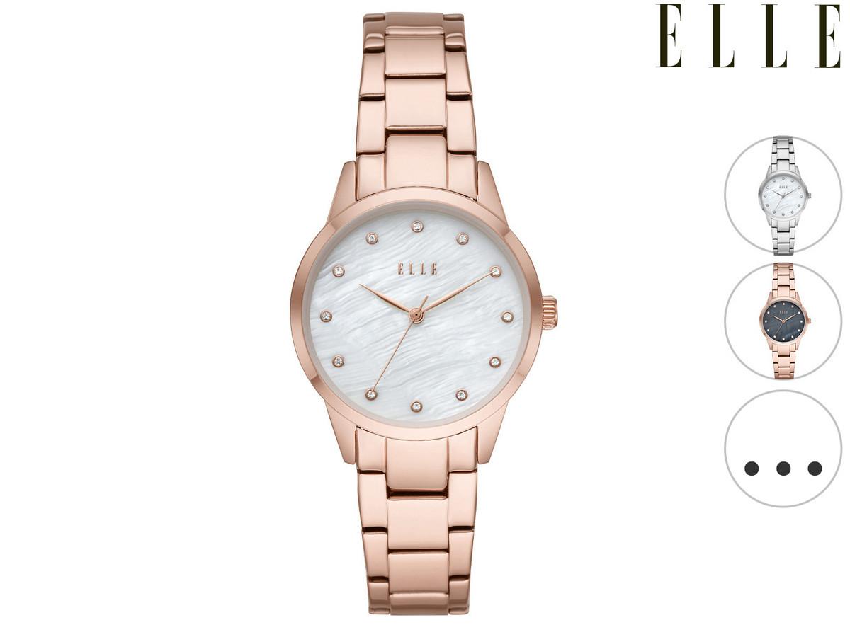 ELLE Quarz-Armbanduhr für Damen | Molitor oder Monceau