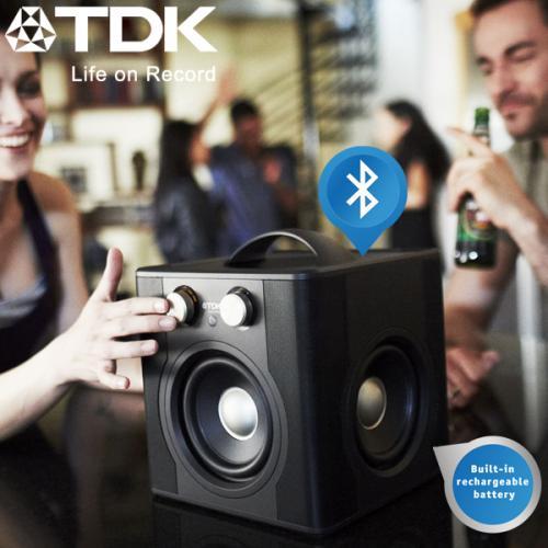 TDK Wireless 360° Tragbarer Sound Cube mit wireless Streaming @ iBood