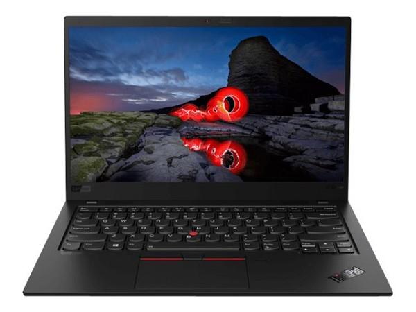 Lenovo ThinkPad X1 Carbon G8 Black Paint, Core i5-10210U, 8GB RAM, 256GB SSD, NFC, IR-Kamera, LAN Adapter (20U90001GE)