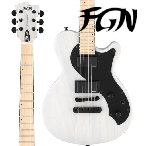E-Gitarre, Gitarre, FGN Flame Flattop DE664, Gitarre