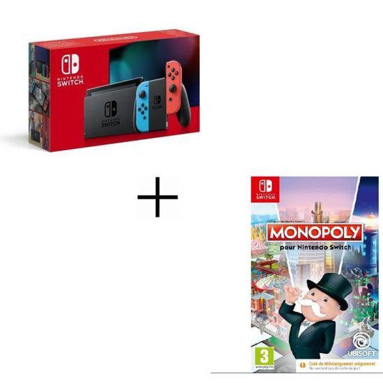 Nintendo Switch Konsole + Monopoly für 284,99€ und weitere Bundles (Cdiscount)