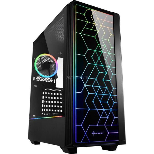 Sharkoon RGB LIT 100 Tower Gehäuse