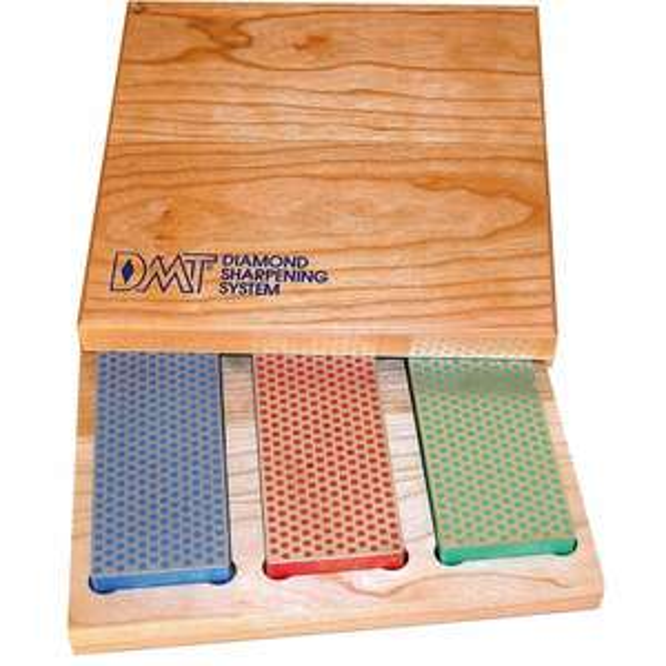 DMT Diamantschleifstein-Set in Holzbox, 3-teilig