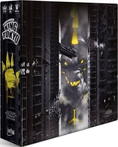King of Tokyo - Dark Edition - Deutsche Version - sofort lieferbar [Spieltraum - Brettspiel-Shop aus Osnabrück]