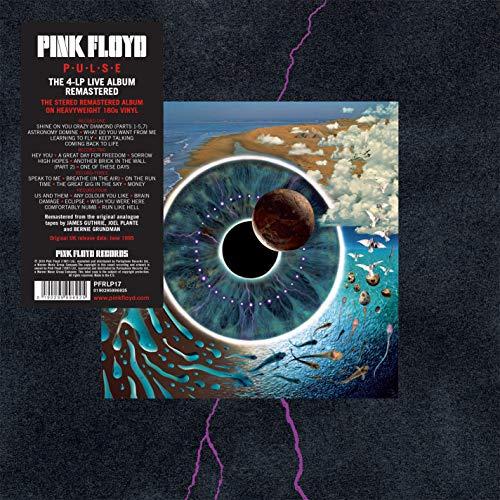 """[Amazon] Pink Floyd - """"P.U.L.S.E."""" 4 x Vinyl LP"""