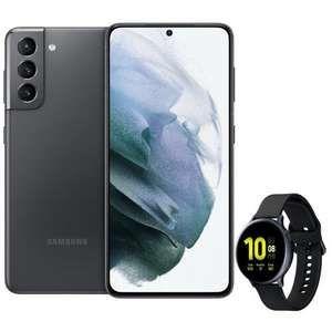 [150€ Samsung Pay] Galaxy S21 mit Watch Active 2 44mm im Telekom Congstar (8GB LTE, VoLTE) mtl. 22€ einm. 354€ | Wechsel in den S = 656,99€