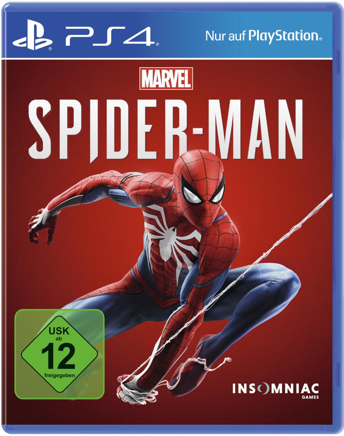 [medion-shop] Marvel's Spider-Man für Playstation 4 (Retail-Disc | Metascore 87 | User Score 8.7)
