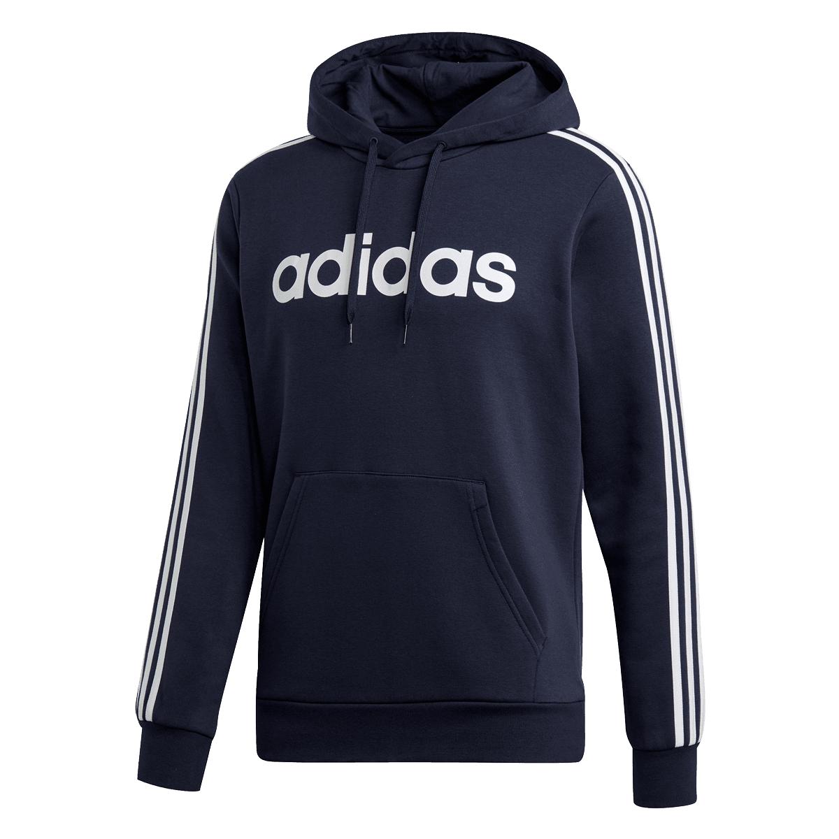 adidas Kapuzenpullover Essential 3S Fleece (Größen S bis XL)