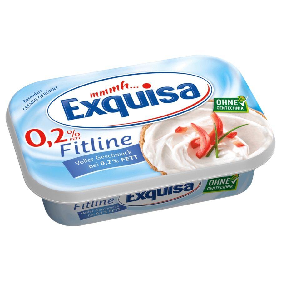 [Kaufland Do-Mi] 3x Exquisa Fitline Frischkäse (auch Köringer Frischkäse) versch. Sorten mit Coupon für 1,25€ (Stückpreis = ca. 0,41€)