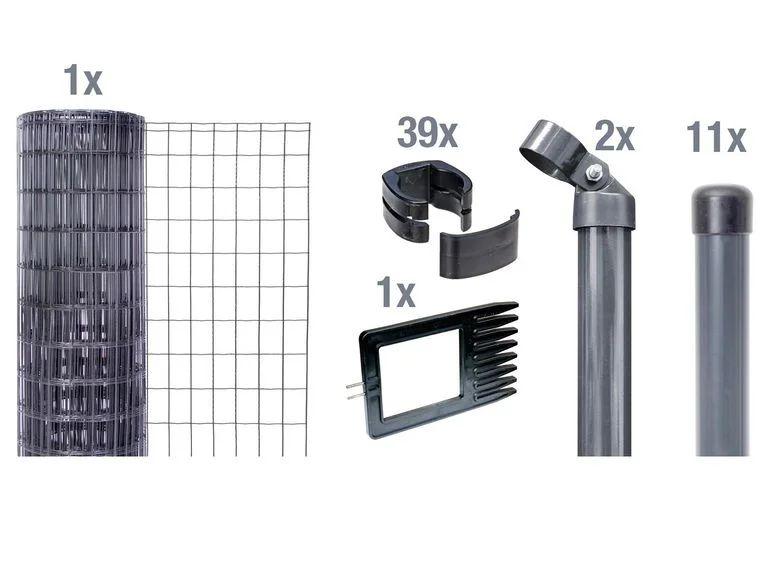 GAH ALBERTS Zaun-Set Fix-Clip Pro®, zum Einbetonieren 25m x 150cm