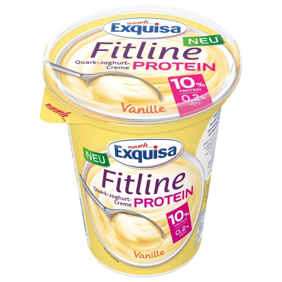 [Kaufland Do-Mi] 3x Exquisa Fitline Protein 400g Becher mit Coupon für 1,97€ (Stückpreis = ca. 0,66€)