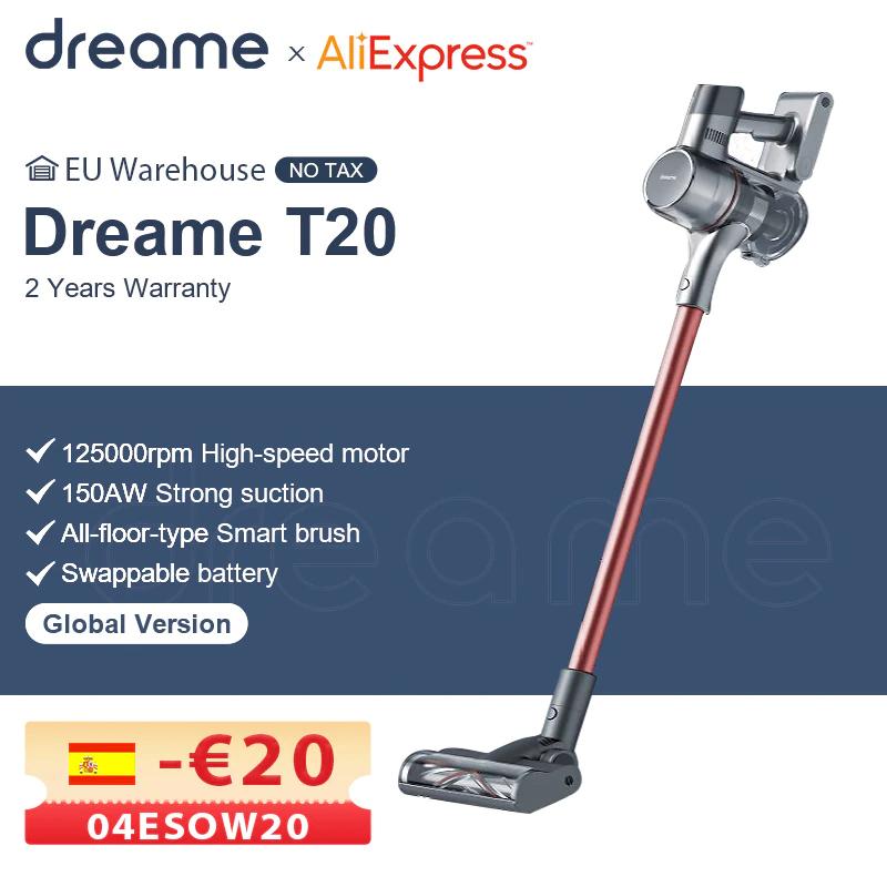 Dreame T20 Akku-Handstaubsauger [AliExpress, EU Versand]