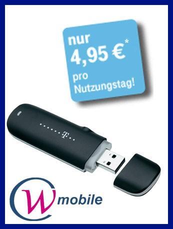 Telekom Internet Surf-Stick web'n'walk Stick Basic IV inkl. 10 € Startguthaben nur 9,95 Euro